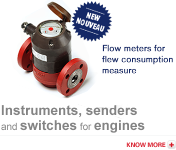 Flow meters for fuel consumption measure